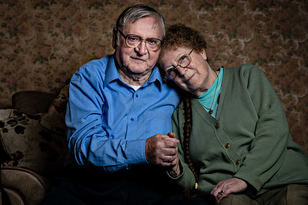 This moving photo series shares the incredible love stories of people over the age of 70