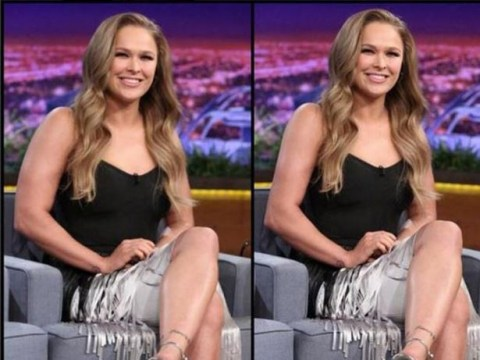 Ronda Rousey blasts body fascists after she's asked to post Photoshopped photo of herself