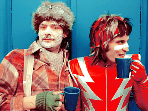 Mighty Boosh fans! Noel Fielding is writing with Julian Barratt again and we're very crimping excited