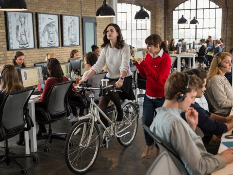 WIN! a stylish white bicycle like Anne Hathaway's in our The Intern competition