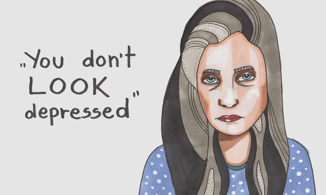XX things never to say to someone with depression - needs illustrations youdontlookdepressed---mmuffin