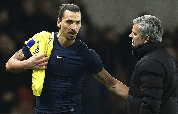 Zlatan Ibrahimovic won't rule out joining Jose Mourinho at Manchester United