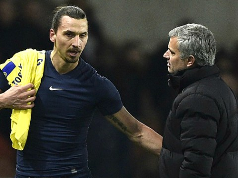 Zlatan Ibrahimovic won't rule out joining Jose Mourinho at Manchester United