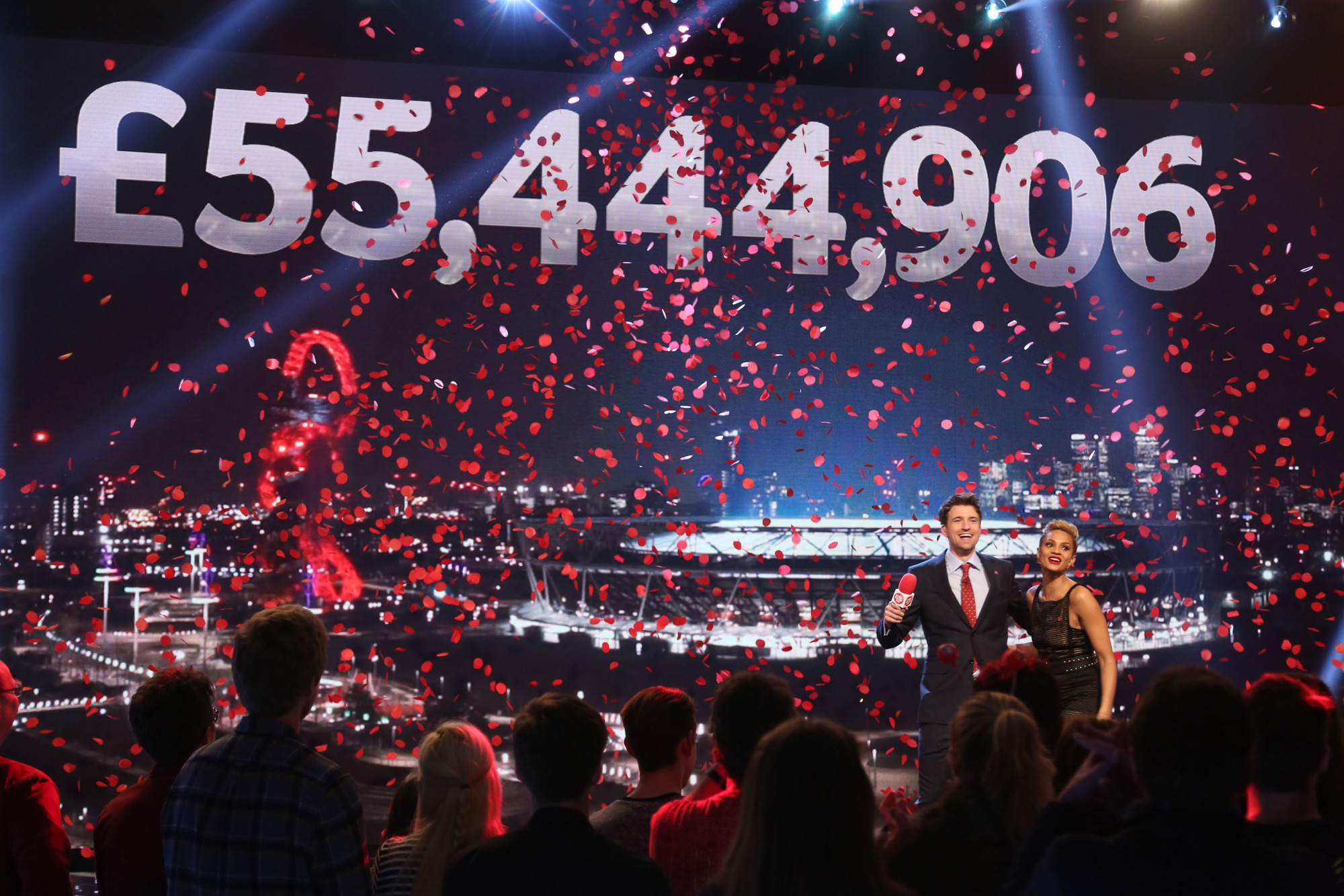 Sport Relief 2016 rounds off the night with a record-breaking £55m raised