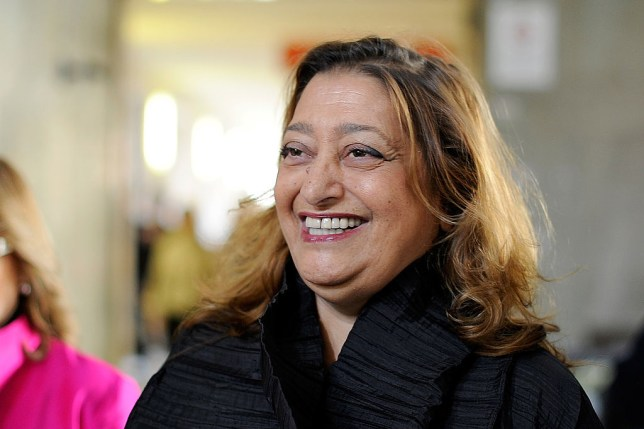 Dame Zaha Hadid (Picture: Getty Images)