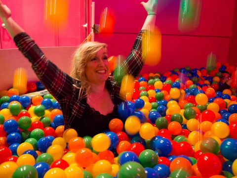 There's a ball-pit bar for adults who want to be drunk but also want to act like kids
