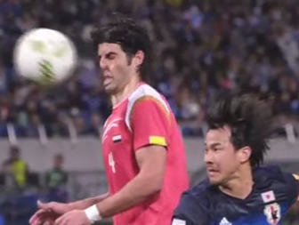 Syrian defender Al Masri scores painful own goal in defeat to Japan