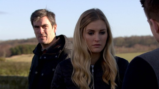 FROM ITV STRICT EMBARGO - No Use Before Tuesday 22 March 2016 Emmerdale - Ep 7464 Thursday 31 March 2016 - 1st Ep Cain Dingle [JEFF HORDLEY] is annoyed Moira's given Charity and Ross permission to use the barn. Holly Barton [SOPHIE POWLES] listens in and hears her mother calling her a liar. Cain forms a plan. Soon he tricks Holly into getting in the back of the van, where he locks her in and tells her to ring Dean [CRAIG VYE] as they're setting him up. On a secluded road they're soon joined by Dean and Cain offers him a deal, if he stays away from Holly. Will it work or will Cain's plan backfire? Picture contact: david.crook@itv.com on 0161 952 6214 This photograph is (C) ITV Plc and can only be reproduced for editorial purposes directly in connection with the programme or event mentioned above, or ITV plc. Once made available by ITV plc Picture Desk, this photograph can be reproduced once only up until the transmission [TX] date and no reproduction fee will be charged. Any subsequent usage may incur a fee. This photograph must not be manipulated [excluding basic cropping] in a manner which alters the visual appearance of the person photographed deemed detrimental or inappropriate by ITV plc Picture Desk. This photograph must not be syndicated to any other company, publication or website, or permanently archived, without the express written permission of ITV Plc Picture Desk. Full Terms and conditions are available on the website www.itvpictur