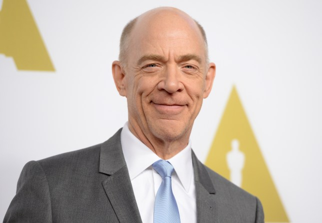 Holy smoke Batman! J.K. Simmons will play Commissioner Gordon in 2017's Justice League (Picture: ROBYN BECK/AFP/Getty Images)