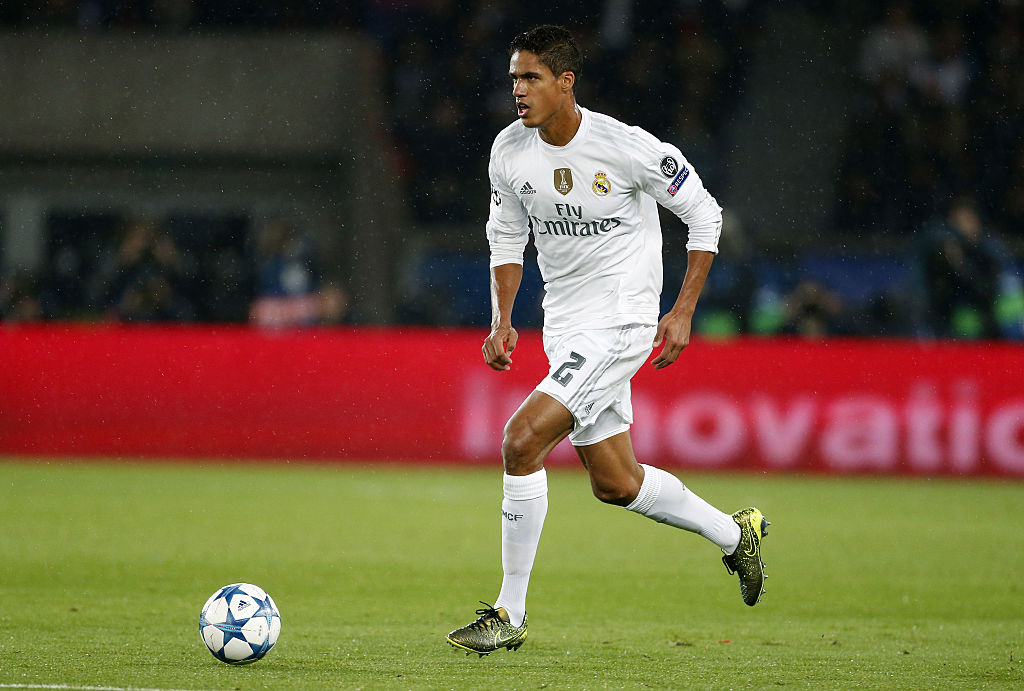 Real Madrid star Raphael Varane tempted by Manchester United 'challenge'