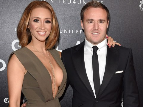 Coronation Street stars Lucy-Jo Hudson and Alan Halsall reunite a month after split