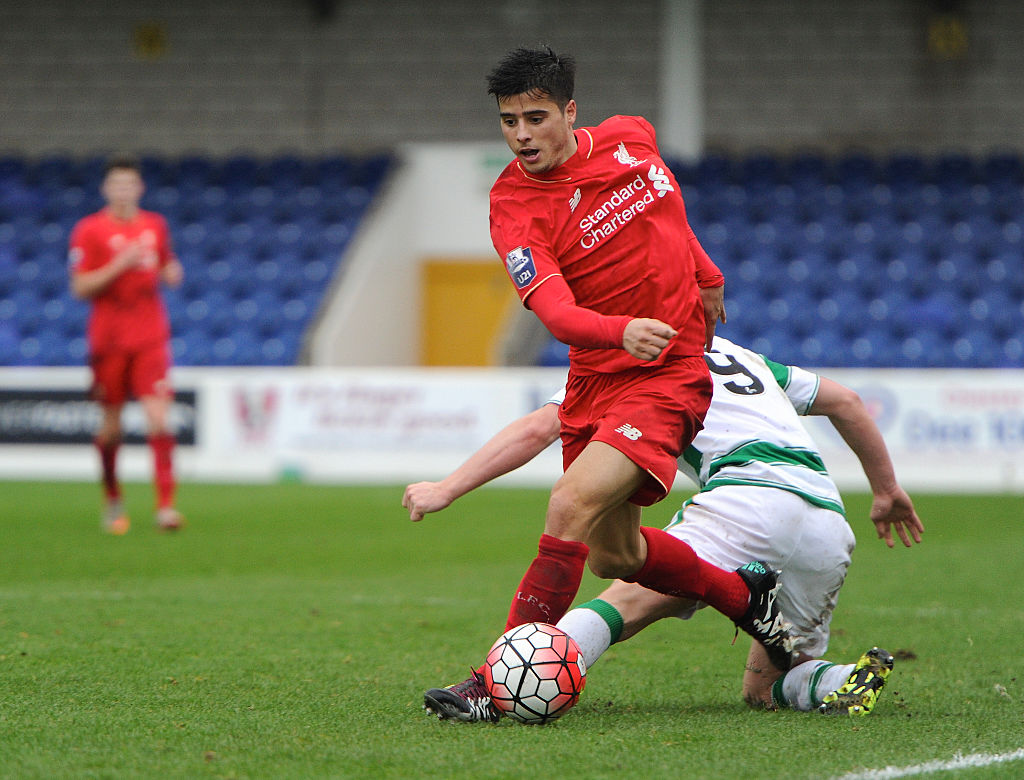 Liverpool youngster Joao Teixeira agrees deal in principle to join Fiorentina