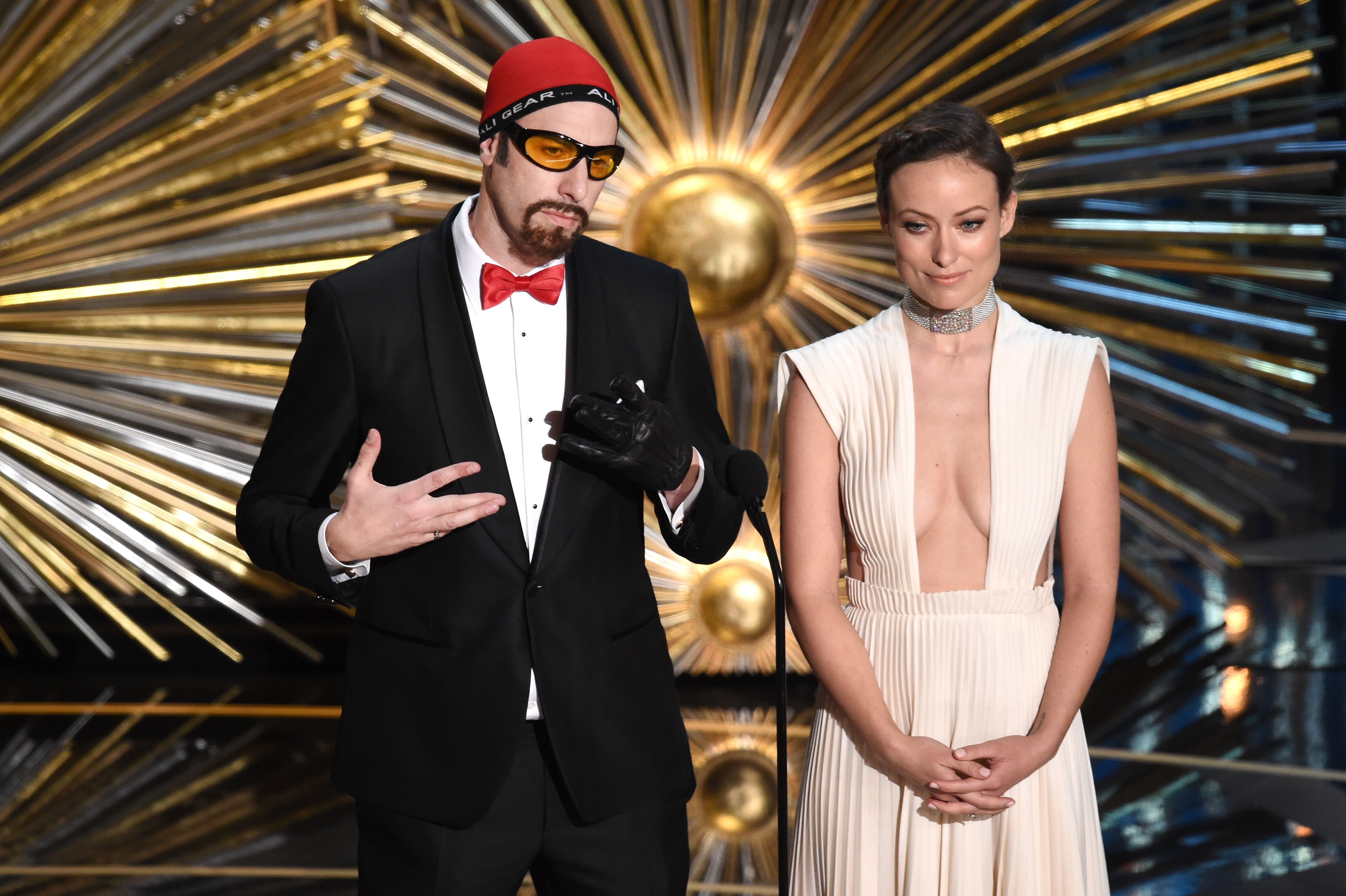 Oscars 2016: Sacha Baron Cohen appeared as Ali G despite Academy telling him not to
