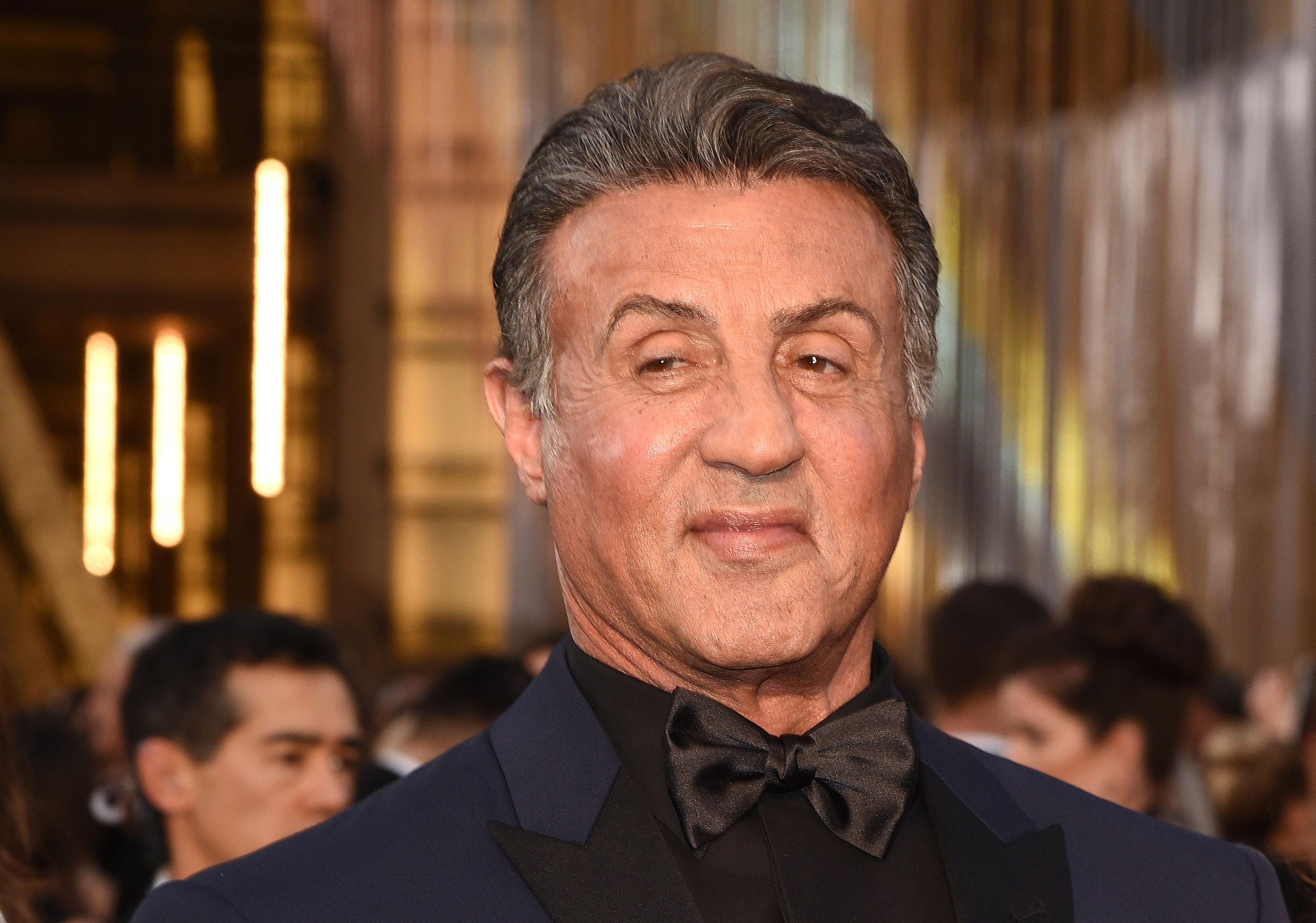 HOLLYWOOD, CA - FEBRUARY 28: Actor Sylvester Stallone attends the 88th Annual Academy Awards at Hollywood & Highland Center on February 28, 2016 in Hollywood, California. (Photo by C Flanigan/FilmMagic)