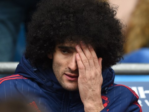 Manchester United have far better record without Marouane Fellaini
