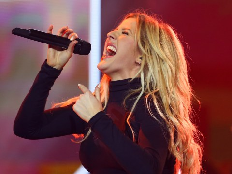 Ellie Goulding's voice 'at risk' if she sings this weekend