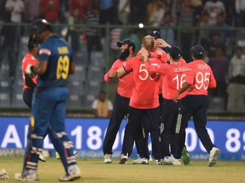 England beat Sri Lanka by 10 runs to qualify for World T20 semi-finals