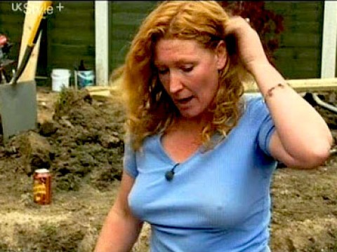 There's something different about Groundforce's Charlie Dimmock…