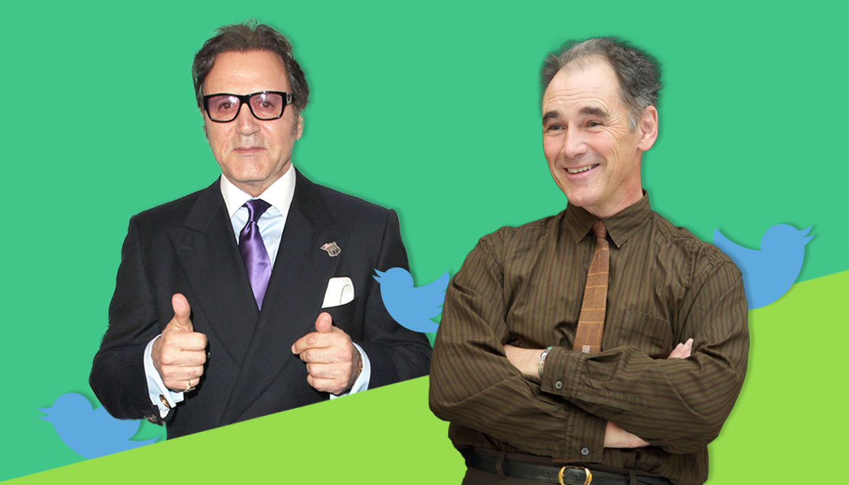 Frank Stallone apologises to Mark Rylance for his Twitter rant, calls him 'Michael Rylance' Credit: Getty Images/Metro
