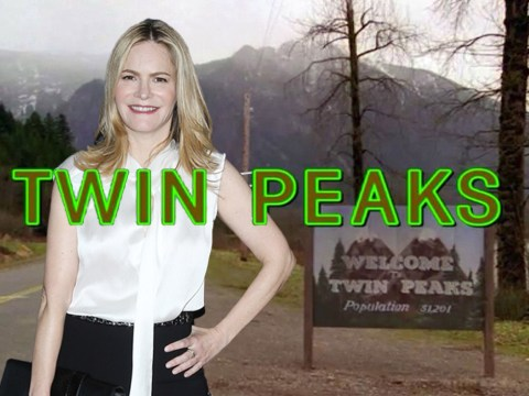 Jennifer Jason Leigh confirms Twin Peaks appearance…by saying nothing