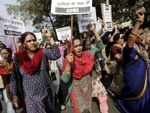 Girl, 15, raped then set on fire in India