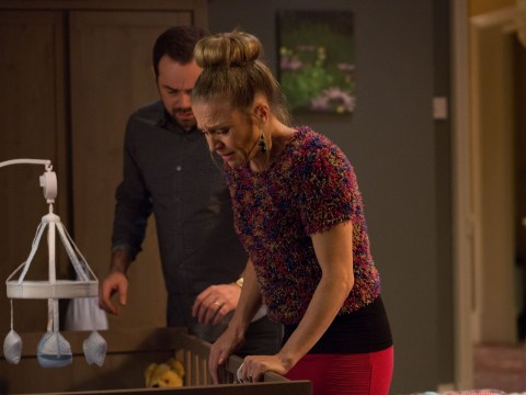 EastEnders viewers got very emotional over baby Ollie's hospital dash