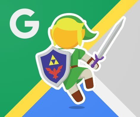 'Legend of Zelda' has a cameo on Google Maps today