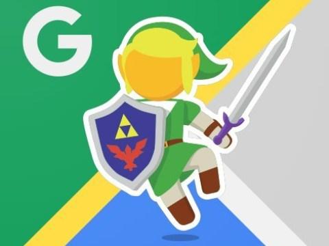 'Legend of Zelda' has a cameo on Google Maps today