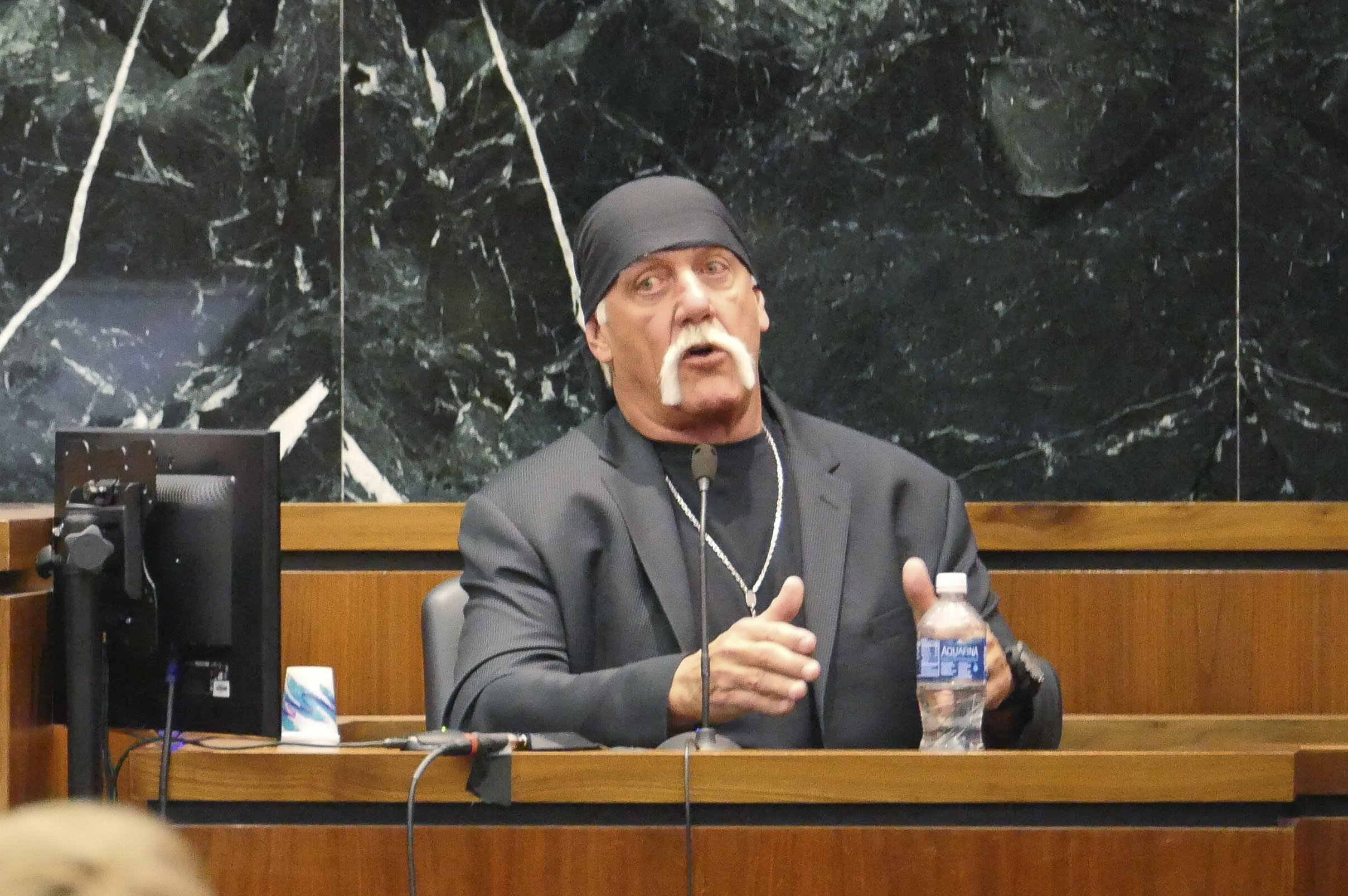 Hulk Hogan awarded £80million over sex tape leak on Gawker