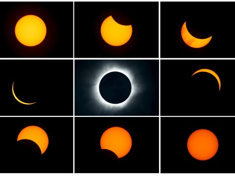 Total eclipse plunges parts of Asia into darkness