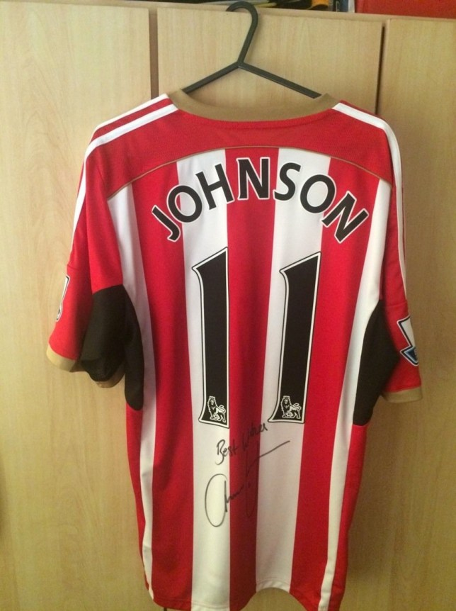 nA SICK trade in paedophile footballer Adam Johnson memorabilia is taking place online.nItems including signed shirts and photographs are being touted on ebay despite the former England player having been convicted of child sex offences.nA Middlesbrough shirt worn by Johnson was auctioned off and bought by a twisted shopper for £26.nA Bolton-based company, Memorabilia Up North, was offering a signed Manchester City shirt for just under £100.nA similar item was being advertised for £59.99 by another seller, who was listed as a Rebecca Hall, from Sunderland (07796783842).nThe shirt was described in an online sales blurb as ¿the perfected item for any fan¿.nThere was also a signed Sunderland shirt on sale with a ¿buy it now¿ price of £30.nEndsnnLONDON MEDIA PRESS LTDn11A PRINTING HOUSE YARDnLONDONnE2 7PRnn0207 613 2548nVAT REG 791571601
