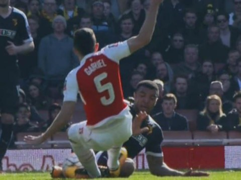 Gabriel Paulista facing retrospective three-match ban for Troy Deeney horror tackle