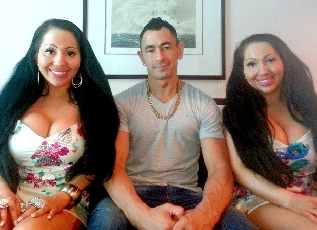 Identical twins who share a boyfriend vow to get pregnant at the same time