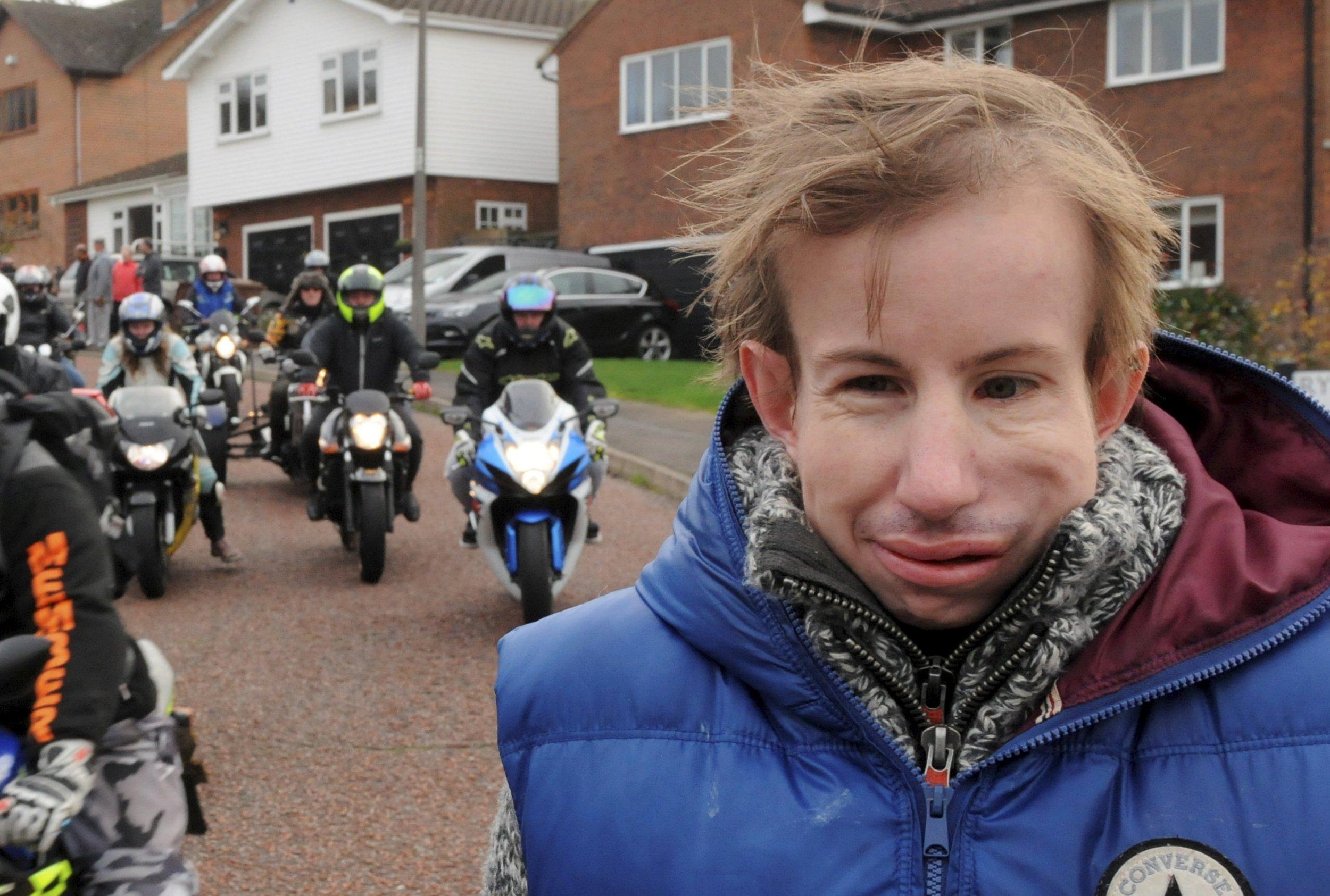 Teen arrested over violent mugging of disabled man