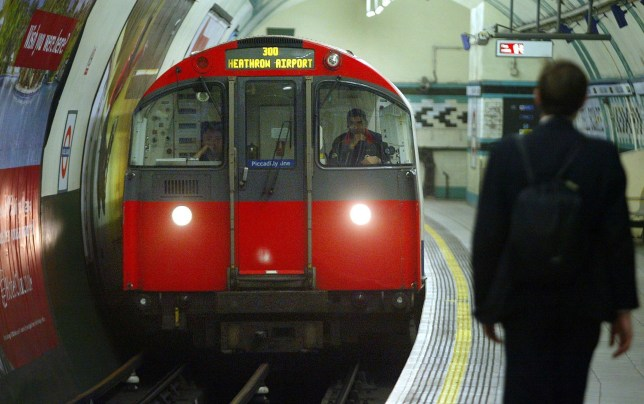 File photo dated 04/08/05 of a Piccadilly line train arriving at Russell Square underground station, London, as a pre-Easter strike by drivers on one of London Underground's busiest lines looks set to go ahead after union leaders said peace talks had broken down. PRESS ASSOCIATION Photo. Issue date: Thursday March 17, 2016. Members of the Rail, Maritime and Transport (RMT) union on the Piccadilly line are due to walk out for 24 hours from 9pm next Wednesday and stage two more strikes next month. See PA story INDUSTRY Tube. Photo credit should read: Andrew Parsons/PA Wire