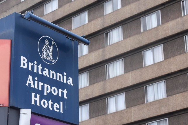 Asylum hotel. PIC BY DAN ROWLANDS/MERCURY PRESS (PICTURED: THE BRITANNIA AIPORT HOTEL IN NORTHENDEN, MANCHESTER WHERE LOCAL REPORTS CLAIM 35 ASYLUM SEEKERS ARE BEING HOUSED) Hotel chain Britannia has allegedly filled its rooms with asylum seekers at its Manchester Airport branch. Local reports claim 35 asylum seekers had previously been living at the firmís Didsbury branch and 271 at the airport hotel. However Britannia now plans to move those in the Didsbury branch into the 212-bedroom hotel at Manchester Airport, meaning 306 asylum seekers will be living there. Manchester currently has one of the highest numbers of asylum seekers in the country at a little under 1,000. Britannia Hotels have been contacted for comment. SEE MERCURY COPY