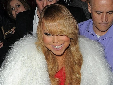 Mariah Carey was the guest of honour at her after-party but stayed for just 240 seconds