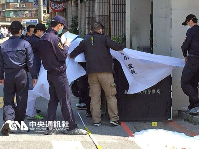 "TAIPEI - A 33-year-old man was arrested in Taiwan on Monday (March 28) for allegedly chopping off the head of a four-year-old girl, reports said. The suspect, who reportedly has a history of mental illness, attacked the young girl at a Taipei suburb on Monday at about 11am, Focus Taiwan said. The attack happened right in front of her mother. Her grieving mother, Mrs Liu, told Apple Daily that she was about one metre away from her daughter, but could not stop the killer. The girl was going upslope on a strider bike when the suspect approached her from behind. She and her mother were on their way to a train station to meet her grandfather and her younger siblings. Thinking that the suspect was trying to help push her daughter up the slope, Mrs Liu did not attempt to stop him. Instead, he pulled out a chopper and brought it down on the little girl's neck, the newspaper said. When she realised what was happening, Mrs Liu tried to hold the killer back, but was not strong enough to stop him. Passers-by then helped to subdue the attacker, but by then, he had decapitated the victim. A blood-stained chopper was found near the crime scene, said Focus Taiwan. ""I could not believe it. How can something so cruel happen?"" the girl's grandmother sobbed as she told TVBS in Mandarin. The victim, nicknamed ""Little Lightbulb"", is the second of four children in her family. Her father works in the IT industry, and her mother is a housewife. She has a nine-year-old sister and a younger brother and sister who are two-year-old twins. A photo of the suspect, his face splattered with blood as he was brought in by the police, was published by Taiwanese media. The suspect, surnamed Wang, is said to be unemployed, and has a history of mental illness and drug offences. The case has shocked Taiwanese.58854261.jpg"
