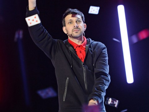 Fans cringe as Dynamo's magic trick goes wrong live on stage
