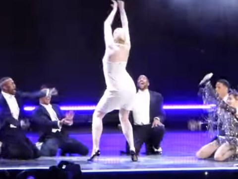 Game Of Thrones' Brienne Of Tarth got spanked on stage by Madonna and totally lost her chill