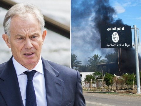 Tony Blair says Isis must be 'crushed'