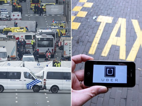 Brussels attacks: Uber turns off surge pricing in Belgian capital