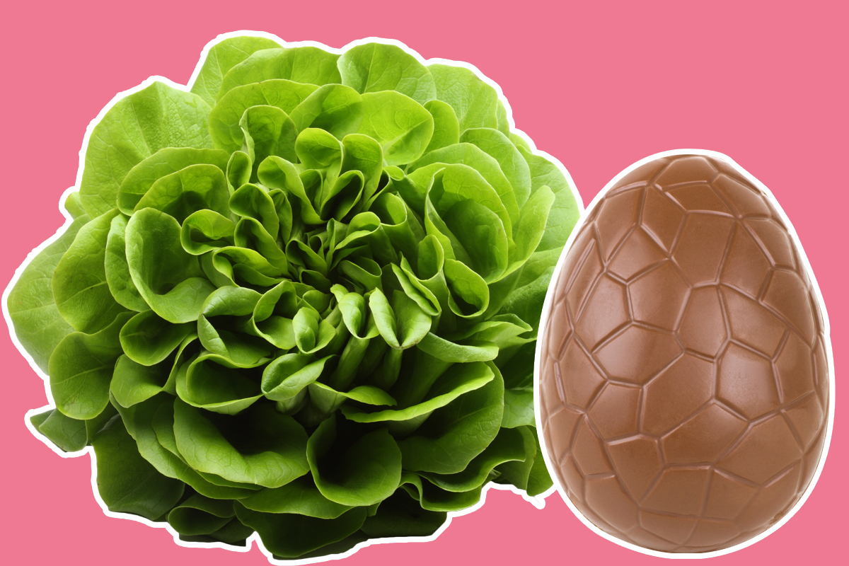 Mum orders Easter eggs from Tesco but gets a salad instead