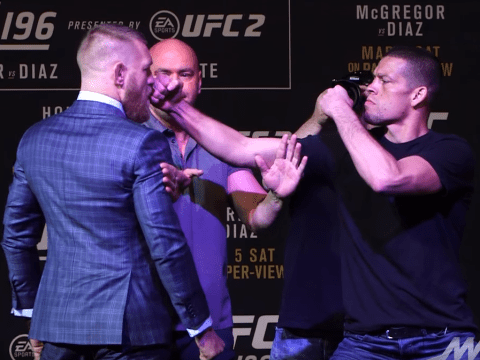 Conor McGregor hits out at Nate Diaz during UFC 196 press conference