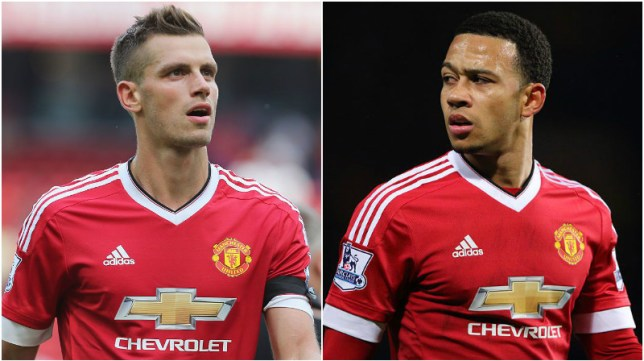 Memphis Depay and Morgan Schneiderlin could be sold this summer (Pictures: Getty)