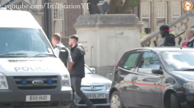 The Trollstation cameraman has been jailed (Picture: SWNS)