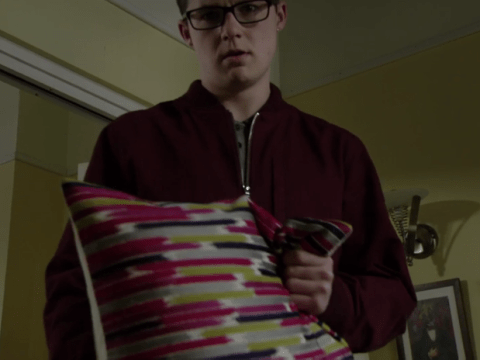 EastEnders fans can't handle the latest cliffhanger as pillow gets the 'duff duff' treatment