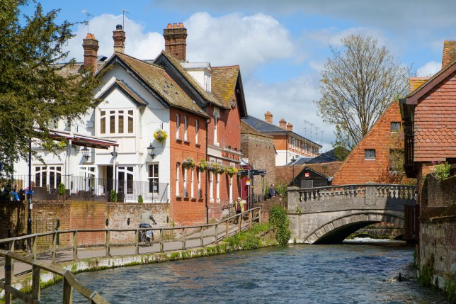 Winchester's been voted the best place to live in Britain (Picture: Alamy)