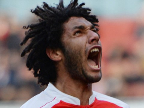 Arsenal fans have already fallen madly in love with Mohamed Elneny