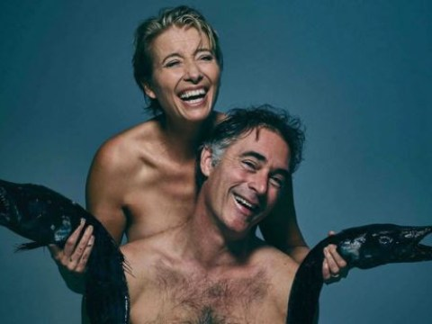 Emma Thompson and 11 celebrities get naked with dead fish